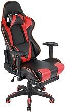 Gaming stoel, Computer stoel, stille wielen, Hoogte verstelbaar(46-56 cm), 360 ° rotatie, met armleuningen, Inclusief kuss...