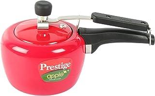 Prestige Apple Plus Aluminium Pressure Cooker2 Litres Flame Red