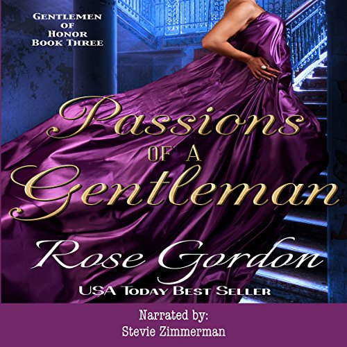Passions of a Gentleman audiobook cover art