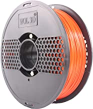 WOL 3D PLA 3D Filament (Red, 1.75 Mm)