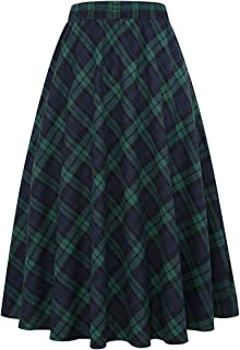 Best tartan skirt midi Reviews