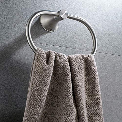 HYY-YY Mooie handdoek opknoping Ring 304 RVS Handdoekring Handdoekring Ronde handdoekhouder New Handdoekenrek Handdoek Bar Multifunctionele