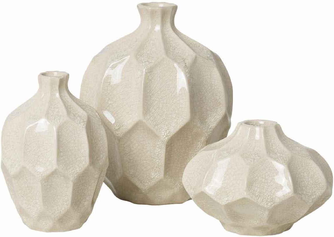 Amazon.de broste Copenhagen Vasenset Amalfi creme 20er Set Keramik
