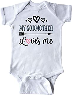 My Godmother Loves Me Godchild Infant Creeper