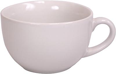 Home Basics Jumbo Ceramic Mug 22 Oz, White