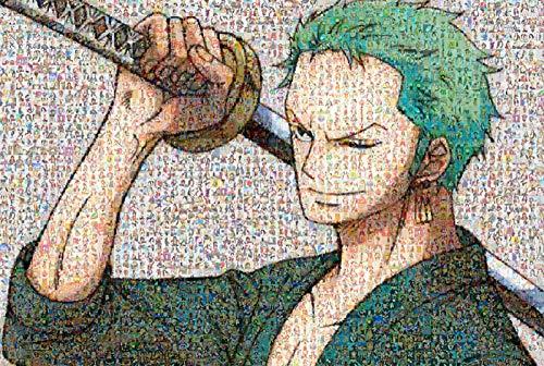 MEIPINPAI Puzzles De Anime De Dibujos Animados 1000 Piezas Puzzle De One Piece De Madera, para Juguetes Educativos para Niños Adultos Juego De Rompecabezas (75 * 50 Cm)-One Piece-C_75x50cm