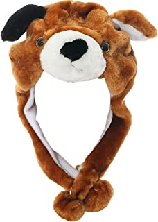 JOYHY Unisex Winter Plush Ear Flap Animal Hats