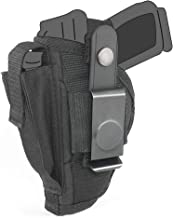 Belt Side Holster fits Smith & Wesson - S&W M&P Shield 380 EZ with 3.68