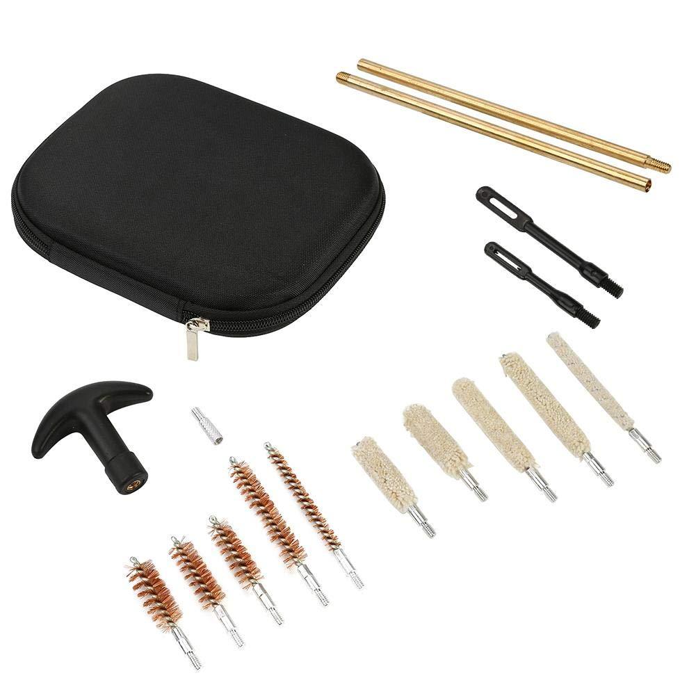 Alomejor Kit de Limpieza de múltiples Pistolas Cepillos de Varilla con Estuche para Pistolas de Mano de Pistola de Rifle de Aire de Escopeta: Amazon.es: Deportes y aire libre
