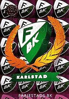 (CI) Farjestad BK, Checklist Hockey Card 1995-96 Swedish Leaf (base) 37 Farjestad BK, Checklist