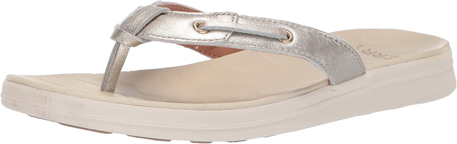 Sperry Top-Sider Women's Adriatic Thong Skip Lace Leather Sandal