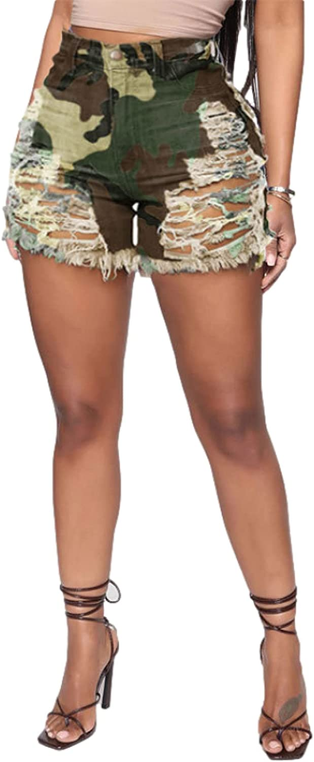 Inventory cleanup Max 84% OFF selling sale Corumly Women's Denim Shorts European American and Street Fashio