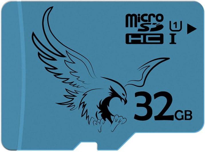 BRAVEEAGLE 32GB Micro SD Card Class 10 microSDHC Memory Card for Dash Cam/Tablet/GoPro (32GB U1)