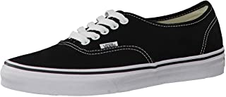 Vans Unisex Authentic Core Skate Shoes Pewter/Black