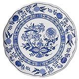 Hutschenreuther 02001-720002-10019 Zwiebelmuster Frühstücksteller, 19 cm mit Fahne, blau
