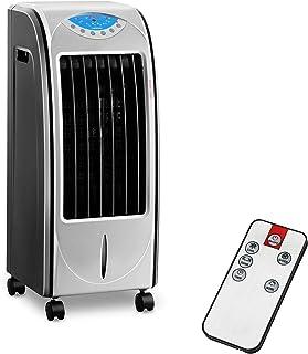 Uniprodo Enfriador de aire evaporativo portatil Ventilador UNI_COOLER_01 (4 en 1, Mando A Distancia, Tanque De Agua 6 L, Potencia Frigorífica 78 Watt)