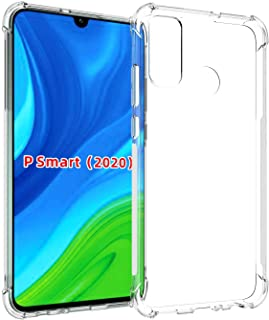 Clear Case for Huawei P Smart 2020 Case Clear TPU Four Corners Cover Transparent hard Clear Case.