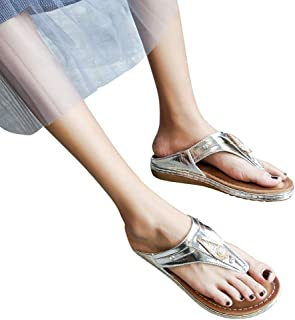 d3d1f21eed238 NEEKEY Fashion Rhinestones Smooth Cross-Border Soft Sandals