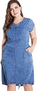 Best womens plus size denim dress Reviews
