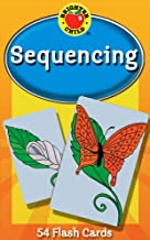 Carson Dellosa - Sequencing Flash Cards - 54 Cards to Learn Patterns and Order of Sequence, Recognize a Series for PreK, Kindergarten, Ages 4+ (Brighter Child Flash Cards)