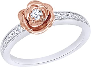 belle beauty and the beast engagement ring
