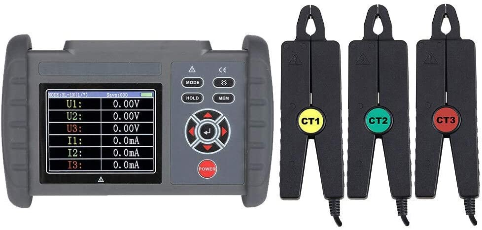 Electronic measuring Miami Mall equipment Outstanding FR2020 Digital Phase Three-phase