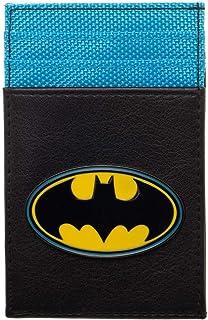 Front Pocket Wallet Batman Accessory DC Comics Gift - Batman Wallet DC Comics Accessories Batman Gift