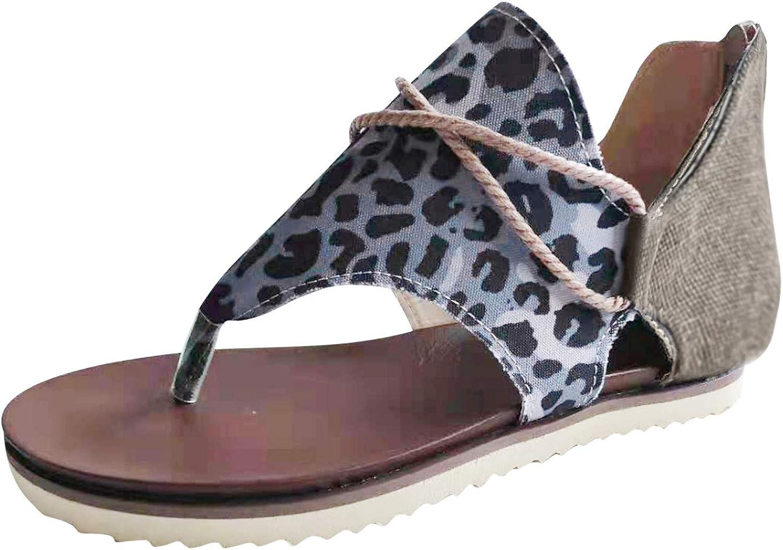 Women's Summer Beach Casual Rubber Straw Woven Wedge Buckle Strap Bubble Low-Heel Sandal