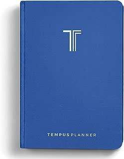 Tempus Planner - Best Productivity Planner & Goal Journal Monday Through Sunday - Daily Organizer. Achieve Your Goals with Time Blocking Method in 2020. Undated w/Bonus PDF Checklist for Habit Change