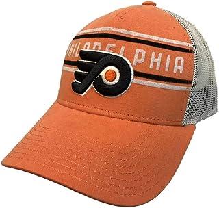 f2133c2f9e3 adidas Philadelphia Flyers Orange CCM Vintage Mesh Structured Snapback Hat  Cap