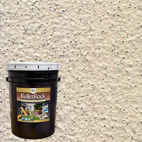 DAICH RollerRock 5 gal. Self-Priming Ivory Exterior Concrete...