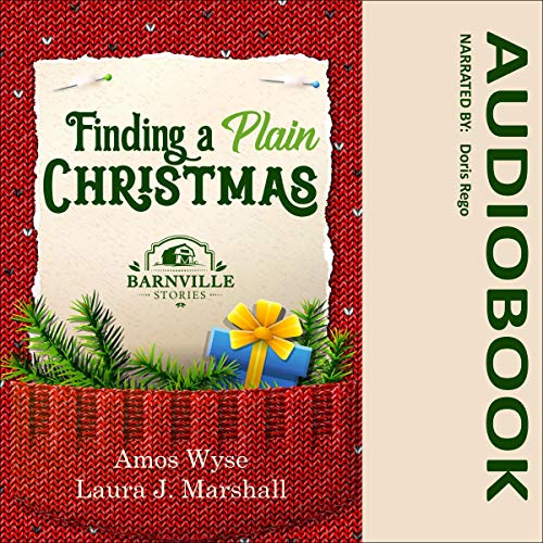 Finding a Plain Christmas: Barnville Stories audiobook cover art