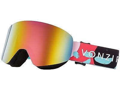 VonZipper Encore Goggle (B4BC Mint Satin/Pink Chrome Lens) Goggles