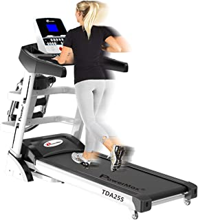 PowerMax Fitness TDA-255 2HP (4HP Peak) Motorized Treadmill with Free Installation Assistance, Home Use & Automatic Incline
