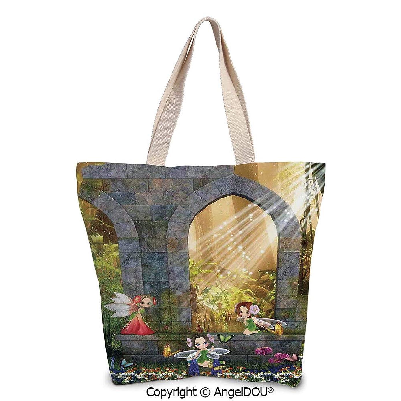 SCOXIXI Parrot Reusable Eco-friendly Shopping Shoulder bag Forest with Parrots