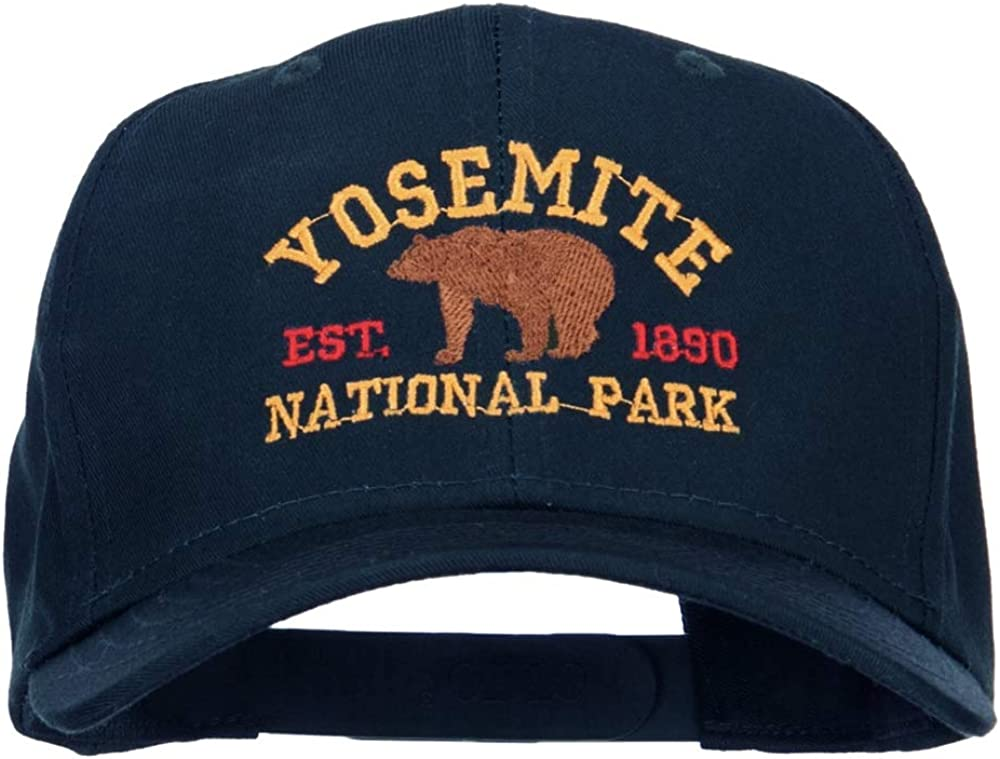Yosemite National Park Embroidered Don't miss the campaign Sale SALE% OFF Gold Cap