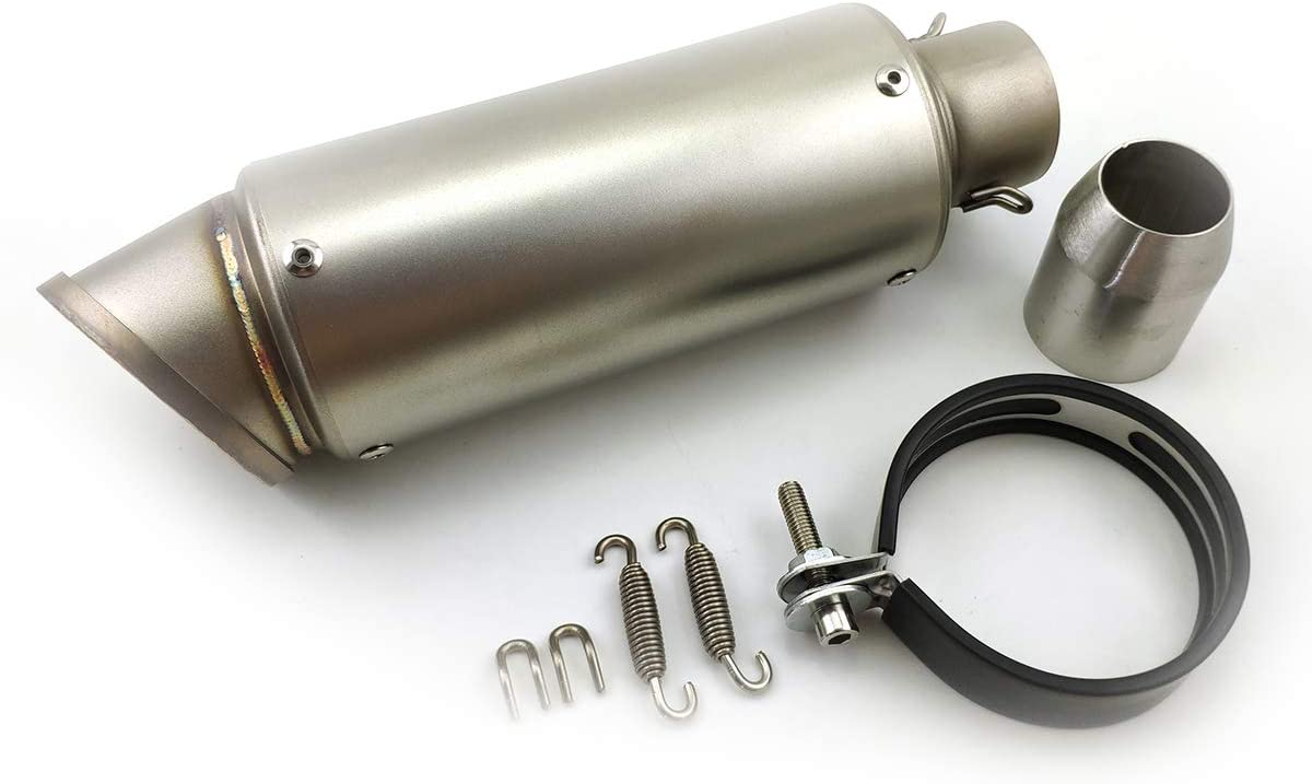Soosee Universal 51mm Slip-on Modified Pipe M Super sale Exhaust Motorcycle Safety and trust