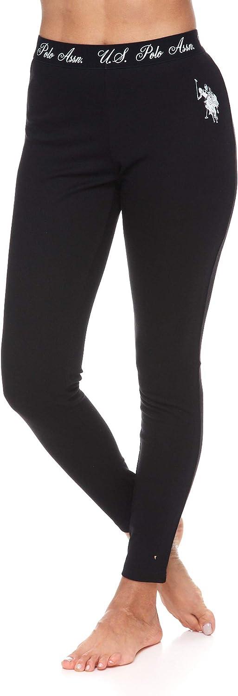 U.S. Polo Assn. Women's Pajama Thermal Underwear Long John Base Layer