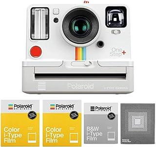 Polaroid Originals OneStep+ Instant Film Camera (White) w/Triple Pack Film & Photobox Bundle (5 Items)