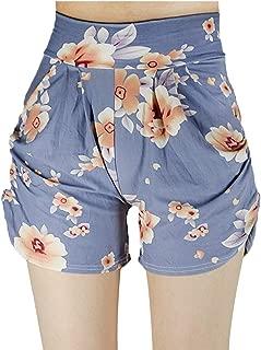 K MASANIJI Womens Summer Ultra Soft Stretchable Shorts Harem Style Shorts