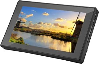 7 Inch HD IPS Touch Screen, 1024x600 Portable LCD Screen, Touch Key Design, HDMI VGA Support, 6H Tempered Glass Capacitive...