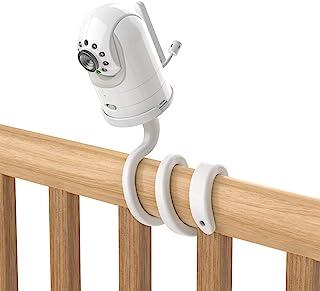 Aobelieve Flexible Twist Mount for Infant Optics DXR-8 Baby Monitor - White