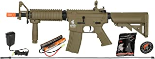 UKARMS Lancer Tactical MK18 MOD 0 AEG Field Metal Gears Airsoft Gun Rifle w 9.6v Battery & Charger