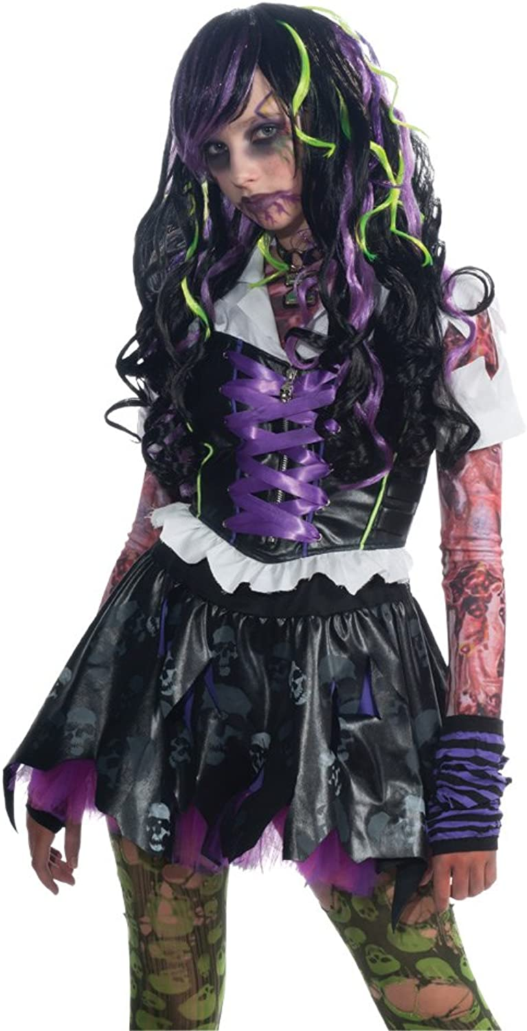 Rubies Costume Zombie Inspired Long Curly Hair Wig