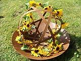 Sonnenblumengirlande Sonnenblume Blume Blättergirlande Tischdeko Girlande künstlich Fensterdeko Dekogirlande Deko 63 Blüten 180cm - 6