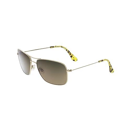 ffb618cc0281 Maui Jim Sunglasses - Wiki Wiki   Frame  Gold Lens  HCL Bronze Polarized