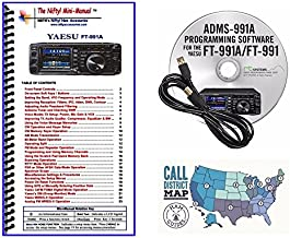 Yaesu FT-991A Accessory Bundle - 3 Items: Includes RT Systems Programming Software/Cable Kit, Nifty! Mini-Manual and Ham G...