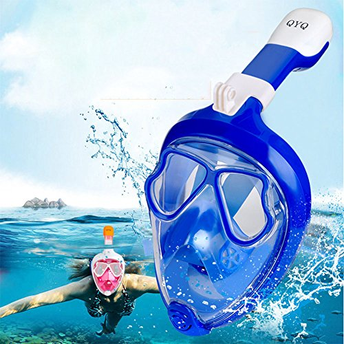 Aoile snorkelmasker van siliconen.