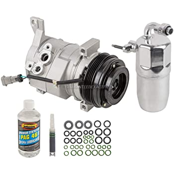 1996-1999 Chevy K1500 Suburban With Rear A//C New AC Compressor /& Kit Fits