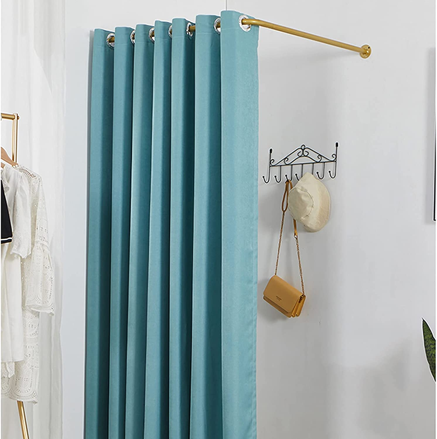 XXIOJUN L-Shaped Fitting Room, Dressing Changing Don't miss the campaign Roo Max 61% OFF Mobile